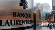 Laurentian Bank's main branch in downtown Montreal, (John Morstad/The Globe and Mail)