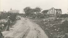 The Baptist church in North Preston , N.S. is shown in a 1934 file photo. Residents of a black community in Nova Scotia say they're hoping for progress this week in gaining title to their land. (THE CANADIAN PRESS)