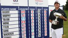Max Gilbert wins Tour Championship