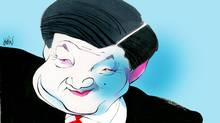 Xi Jinping (Anthony Jenkins/The Globe and Mail)