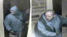 Toronto police released images of two men involved in a string of high-end break-ins and vehicle thefts. (Toronto Police Service)