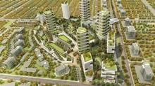 Gregory Henriquez's plan for the Oakridge mall incorporates 2,800 houses and apartment units. (Henriquez Partners Architects)