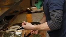 Chef Jonathan Gushue (Fernando Morales/The Globe and Mail)