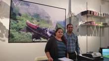 Amanda and Ralston De Zilva run the Chizma Tea Company, selling premium Ceylon teas through a retail shop and online. (Chizma Tea Company)