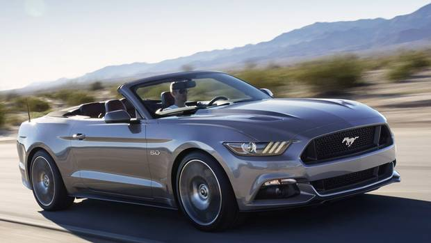 2015 Ford Mustang (Ford)