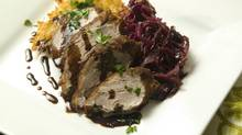 Pork Tenderloin with Red Cabbage (Kevin Van Paassen/The Globe and Mail)