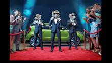 The Kia hamster ads, winner of the Nielsen Automotive Ad of the Year, promote the redesign of the Soul. (Kia)