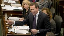 Ontario Premier Dalton McGuinty in the Ontario Legislature. (Kevin Van Paassen/Kevin Van Paassen/The Globe and Mail)