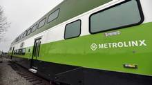 Metrolinx fired back at Bombardier in the wake of a court filing targeting the transit agency, saying that the company built a prototype vehicle that wouldn't even turn on. (Fred Lum/The Globe and Mail)