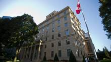 Manulife Financial headquarters in Toronto, August 29, 2012. (Galit Rodan/The Globe and Mail)