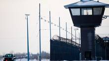 The Edmonton Institution, shown in January, 2011, is a maximum security prison in northeastern Edmonton. (IAN JACKSON FOR THE GLOBE AND MAIL)
