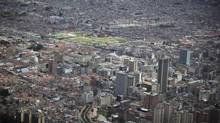Downtown Bogota. (JOHN LEHMANN/The Globe and Mail)