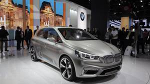 <p>BMW 2 Series Active Tourer concept</p>