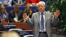 Toronto Mayor David Miller speeks during a City Council meeting on July 31, 2009. (Deborah Baic/The Globe and Mail)