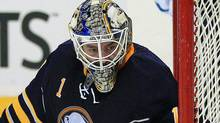 The Buffalo Sabres and goalie Jhonas Enroth take on the Toronto Maple Leafs in Monday's must see game. Kevin Hoffman-US PRESSWIRE (Kevin Hoffman/US PRESSWIRE)