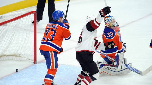 Coyotes Continue Dominance Over Oilers With 2-1 Win