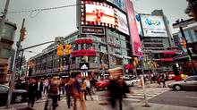 Dundas Square in Toronto (JENNIFER ROBERTS/JENNIFER ROBERTS/THE GLOBE AND M)