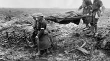 The uniquely dehumanizing quality and horrifying conditions of the Great War impacted the art of the time. (Library & Archives Canada / CP)