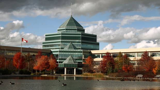 Nortel Networks' iconic research and development headquarters has been sold to the federal government in a $208-million deal, Oct. 19, 2010. The Nortel campus is on 370-acres, with 11 buildings and 2-million square feet of space.