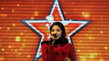 Latifa Azizi and her family were forced to flee to Kabul after the young singer appeared on talent show Afghan Star. (OMAR SOBHANI/REUTERS)