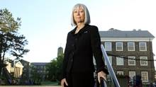 Dr. Constance Backhouse, the chair of the task force which produced a report on the way Dalhousie University responded to a scandal involving male dentistry students. (Paul Darrow for The Globe and Mail)
