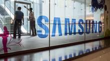 On Tuesday, Samsung said it is ending production of its problematic Galaxy Note 7 smartphones. (Ed Jones/AFP/Getty Images)