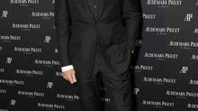 The suit makes the man: quarterback Tom Brady's two-button suit is slim-cut but doesn't strain across his body. His jacket is also the right length for his height. (Eugene Gologursky/WireImage)