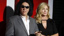 Gene Simmons and Shannon Tweed. (Fred Prouser/Reuters)