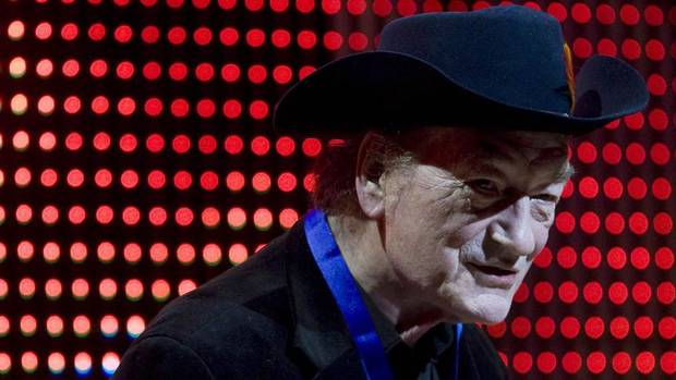Canadian music legend Stompin' Tom Connors.