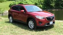 2013 Mazda CX-5. (Bob English for The Globe and Mail)