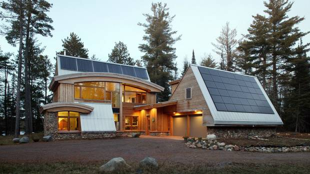 Minnesota Passive House Is Aggressively Green The Globe