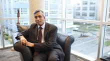 Dr. Arvind Gupta is the CEO and scientific director of MITACS, the Mathematics of Information Technology & Complex Systems, based at UBC. (Brett Beadle for The Globe and Mail)