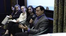 Toronto-based Bigwin Group hosted a panel of experts in New York to discuss how social responsibility affects employee recruiting. (Samantha Walton/Bigwin Group)