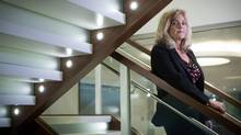Leanne Scott, a vice-president at Leith Wheeler Investment Counsel Ltd. in Vancouver, says the No. 1 concern for her clients is the U.S. policy agenda under President Donald Trump. (Darryl Dyck/The Globe and Mail)