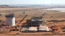 Uranium One Inc.'s Dominion processing plant in South Africa. (Handout)