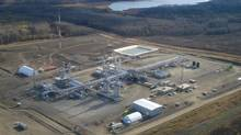 The Steeprock gas-processing plant , one of the assets Versen is buying from Encana Corp. (Veresen Inc./Veresen Inc.)