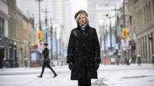 Mary Moran, chief executive of Calgary Economic Development, says her organization has been working 'pretty aggressively' for the past six months on attracting technology countries to Calgary. (Todd Korol/The Globe and Mail)