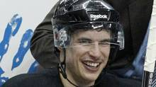 Pittsburgh Penguins' Sidney Crosby continues his rehabilitation from a concussion. (Gene J. Puskar/AP)