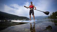 Last year, paddleboarding was the outdoor activity with the biggest popularity boost – a 29-per-cent increase in participation. (JOHN LEHMANN/The Globe and Mail)