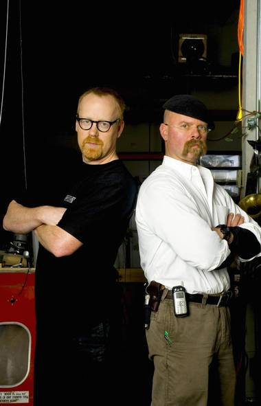 MONDAY AUGUST 18 MythBusters (Discovery, 9 p.m.) Still chugging along in its 13th season, this series in which hirsute handymen Adam Savage and Jamie Hyneman apply the scientific method toward popular urban myths still draws healthy ratings and maintains an impressive presence on social media - with more than 1.5-million Twitter followers. Most likely people still watch because the show consistently chooses relatable topics. Tonight, the pair go to great lengths to determine whether a public washroom hand dryer really is more sanitary than a paper towel, after which they determine whether it really is wise to stand in a doorway during an earthquake. Watch and learn.