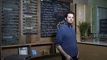 """Alex Robb, spokesman for the Trees dispensary chain, said business people in his 'as-yet-unregulated' sector must learn to work well with city councils and police forces because """"they all have different priorities."""" (Chad Hipolito For The Globe and Mail)"""