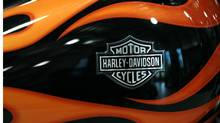 Harley-Davidson said sales of new motorcycles in the second quarter posted their first year-over-year rise in the United States since the fourth quarter of 2006. (Justin Sullivan/Getty Images/Justin Sullivan/Getty Images)