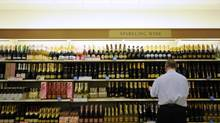 The LCBO store on Queens Quay in Toronto. (Fred Lum/The Globe and Mail)