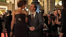 "Robert Benigni plays Leopoldo, an office worker who becomes briefly famous, in a scene from ""To Rome With Love."" (Philippe Antonello/AP)"
