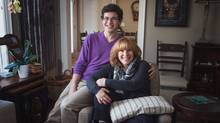 """The Family Navigation Project """"was born out of trauma, but it was a brilliant development,"""" says Rhonda Myers, shown with her son Jason. (Supplied)"""