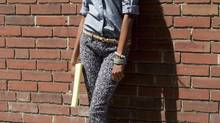 How to pull off: the printed jean (Chris Young/The Globe and Mail)