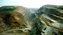 Iron ore mining in Labrador