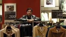 Danier Leather CEO Jeffrey Wortzman estimates the new tariff will cost his company $1.2-million a year. (Kevin Van Paassen/The Globe and Mail)