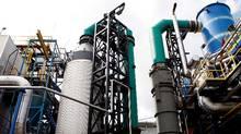 The plasma-gasification system at Plasco. (Blair Gable/Photo by Blair Gable)