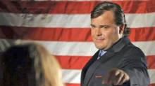 Jack Black stars as a coke-snorting, genital-shocking senator-rancher whose offenses are impeachable - and hilarious.